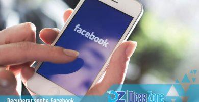 Como recuperar sua senha do Facebook