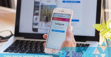 como marcar no instagram