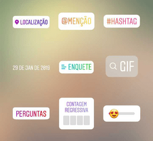 marcar stories instagram