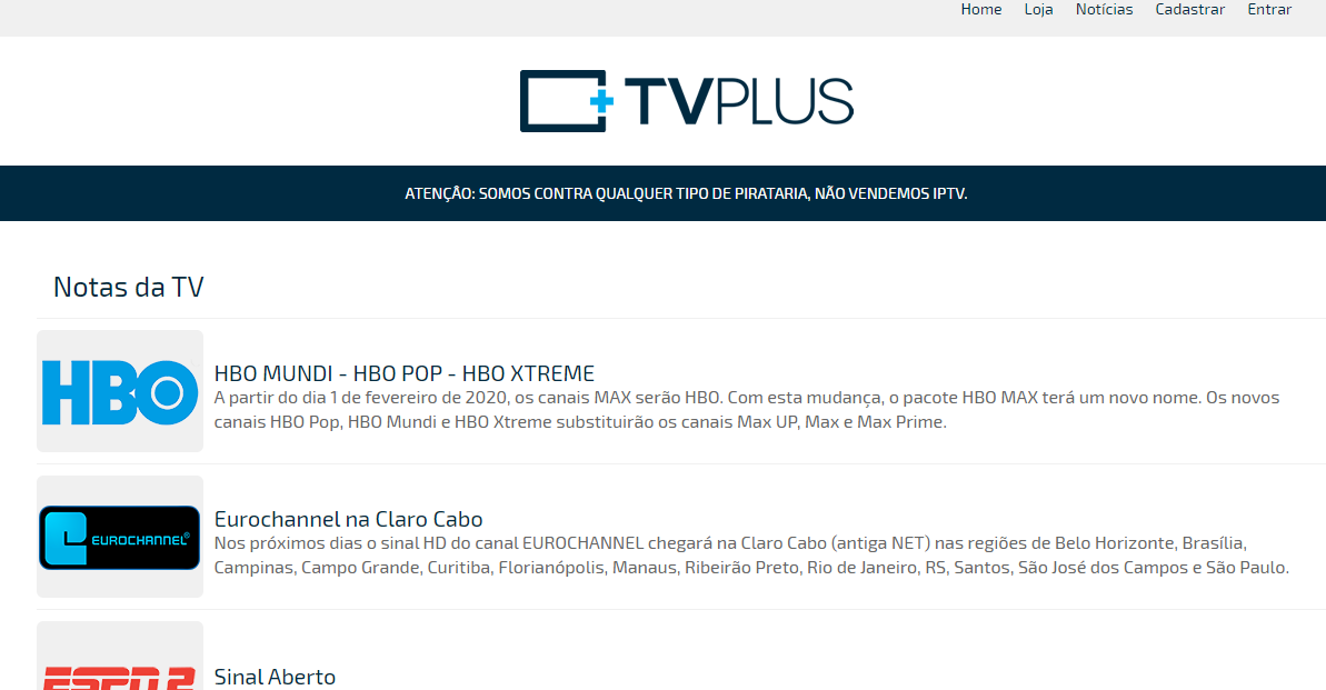 site TV Plus
