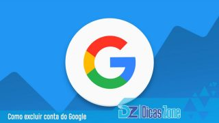 como excluir conta do gmail