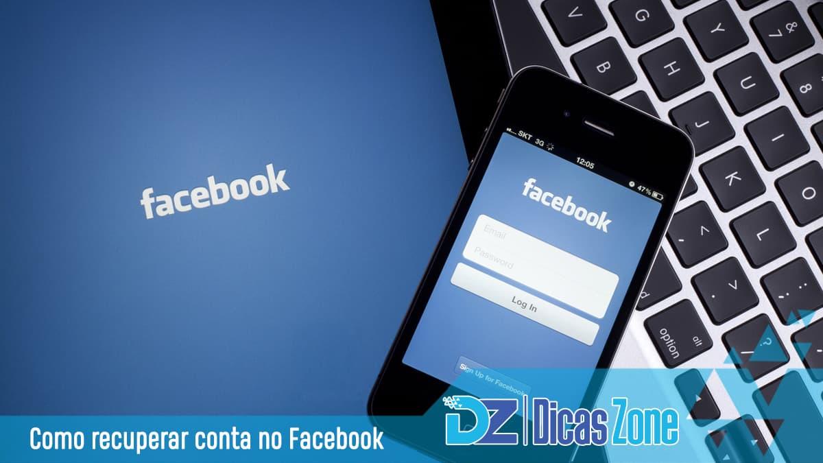 recuperar conta do facebook