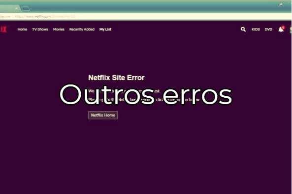 Aprenda a resolver o erro 12001 no Netflix