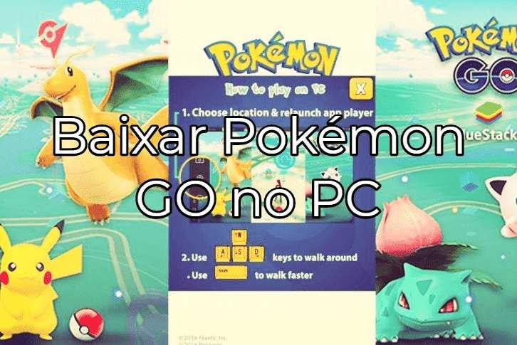 jogar e instalar Pokemon Go Pc