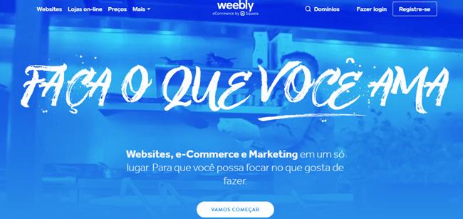 site grátis weebly