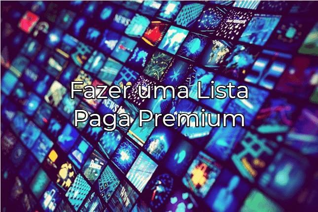 COMO CRIAR LISTA IPTV TODOS CANAIS FUNCIONANDO