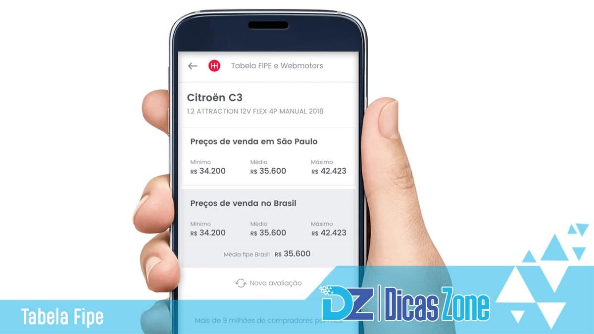 Todos os preços de carros no Brasil