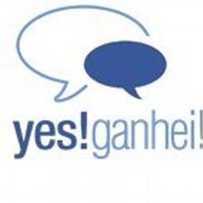 Yes! Ganhei logo