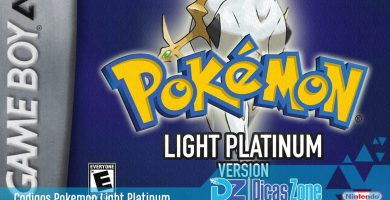 Pokemon Light Platinum Cheats - GameShark Codes