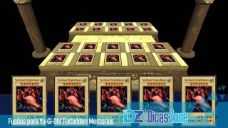 yu gi oh forbidden memories todas as fusoes