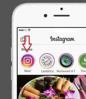 Foto stories Instagram