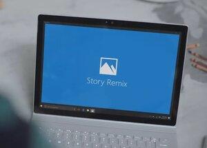 Novo software para Windows 10 Story Remix