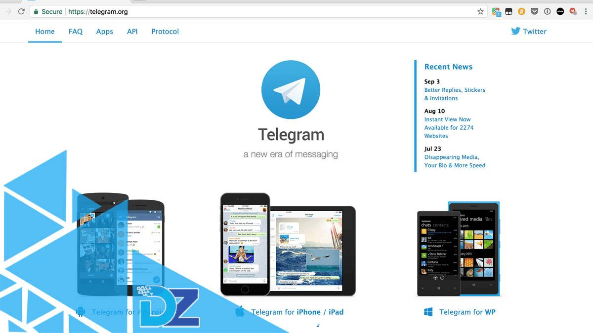 telegram desktop web