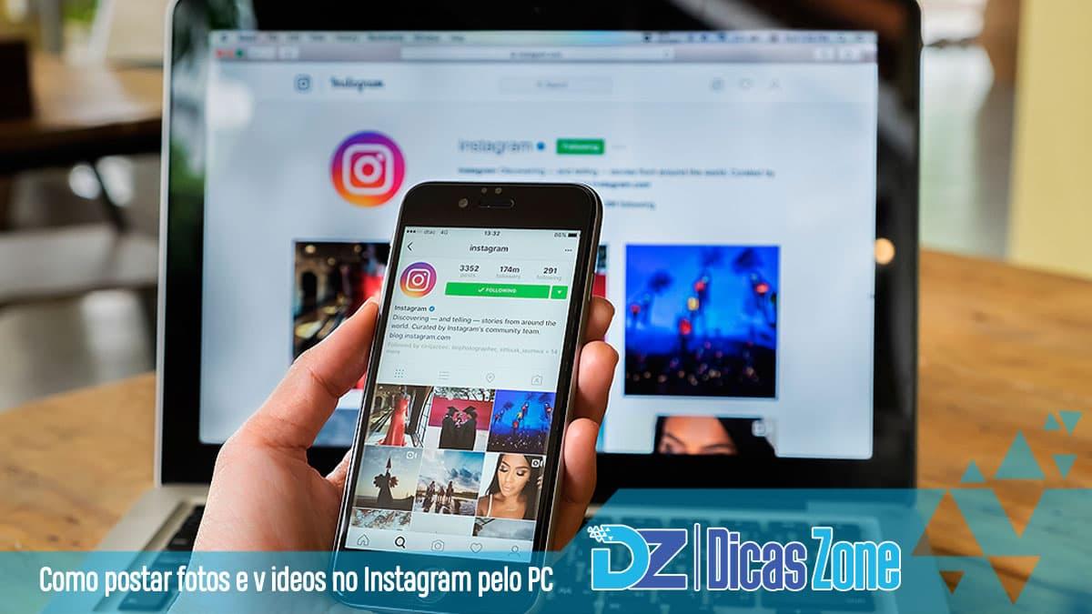 como postar no instagram pelo notebook e mac