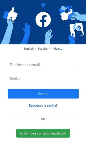 Facebook-entrar-app