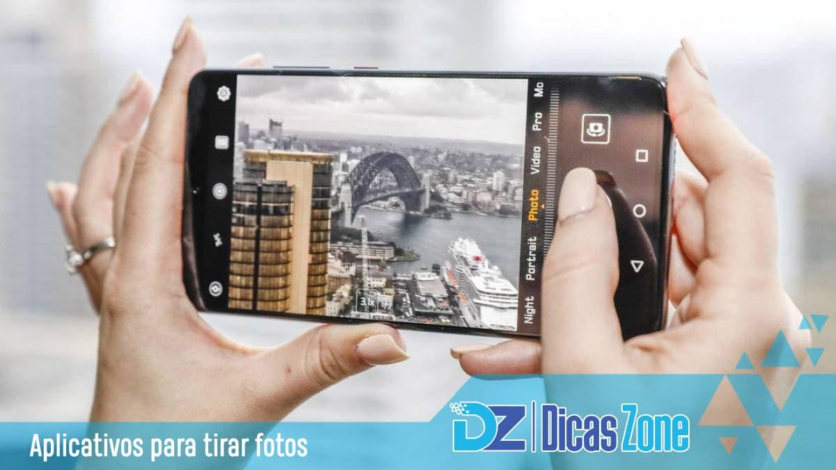 app de tirar fotos com efeitos