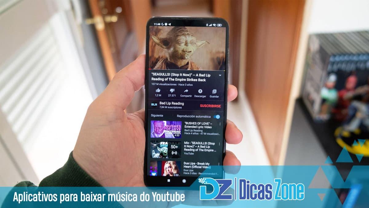 app que baixa musicas do youtube