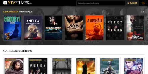 Site Yes Filmes para Séries