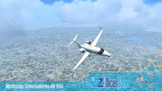 simulador de avião