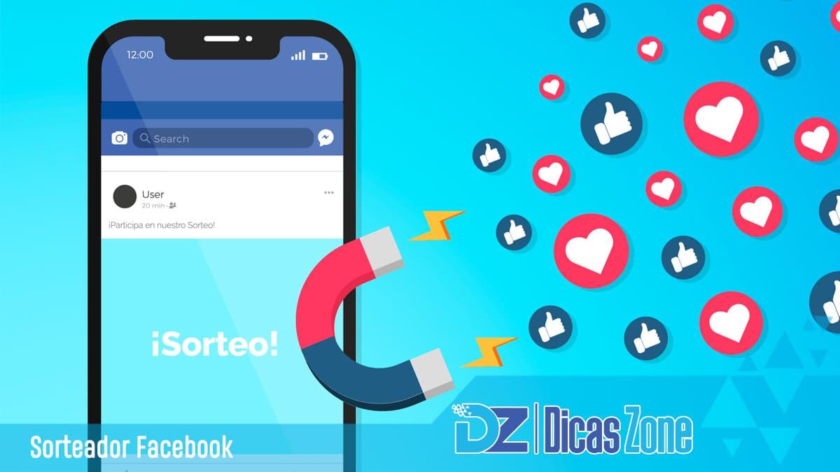 criar sorteios facebook