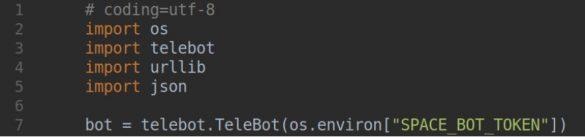 API Python bot Telegram