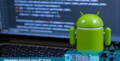 emulador de android para pc fraco