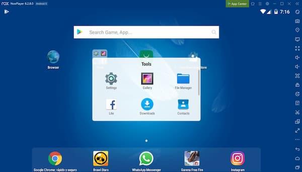 Emulador de Android NoxPlayer