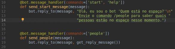 Inicializar bot telegram
