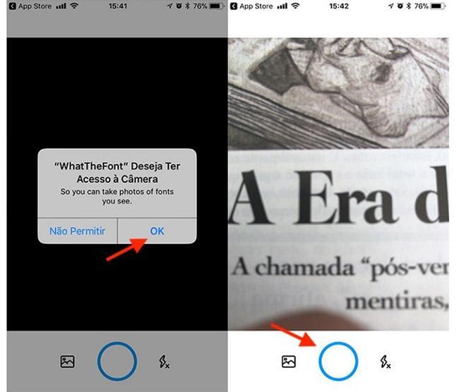 Descubra qual fonte foi usada no texto de uma imagem ou foto