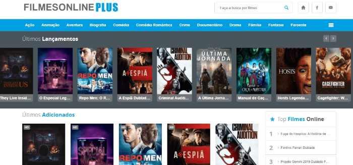Site Filmes Online Plus
