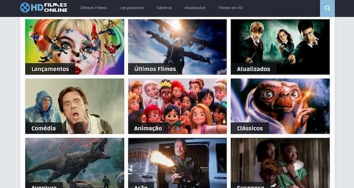 Site HD Filmes Online