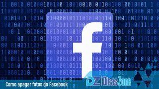como excluir fotos do facebook