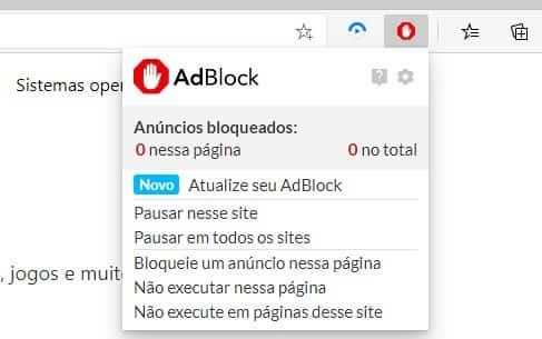 Adblock Microsoft Edge