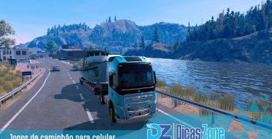 melhor jogo de caminhão para celular