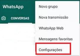 Configurações do aplicativo