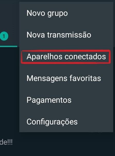 Conectar WhatsApp ao computador