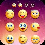 Tela de bloqueio emoji