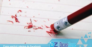 como apagar pagina do facebook