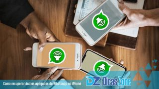 Tutorial Recuperar áudios deletados do WhatsApp no iPhone