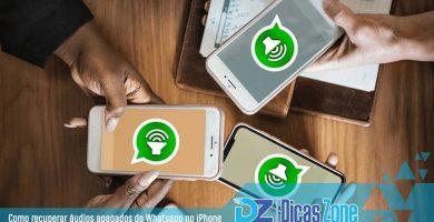 Tutorial Recuperar áudios deletados do WhatsApp no iPhone