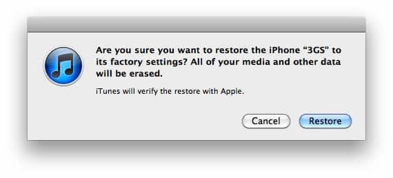 Redefinir iPhone pelo iTunes